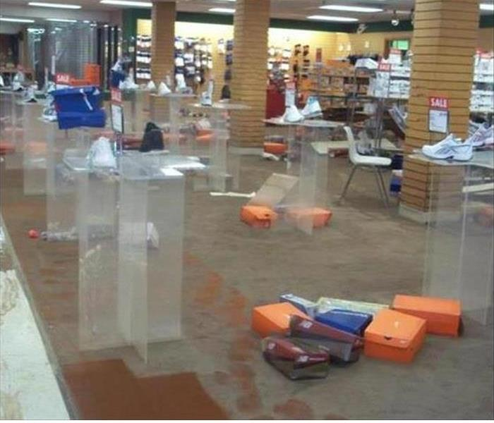 Flood Damage to a Retail Store in Marina Del Rey