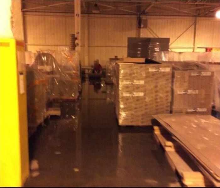 Commercial Water Damage – Santa Monica Warehouse