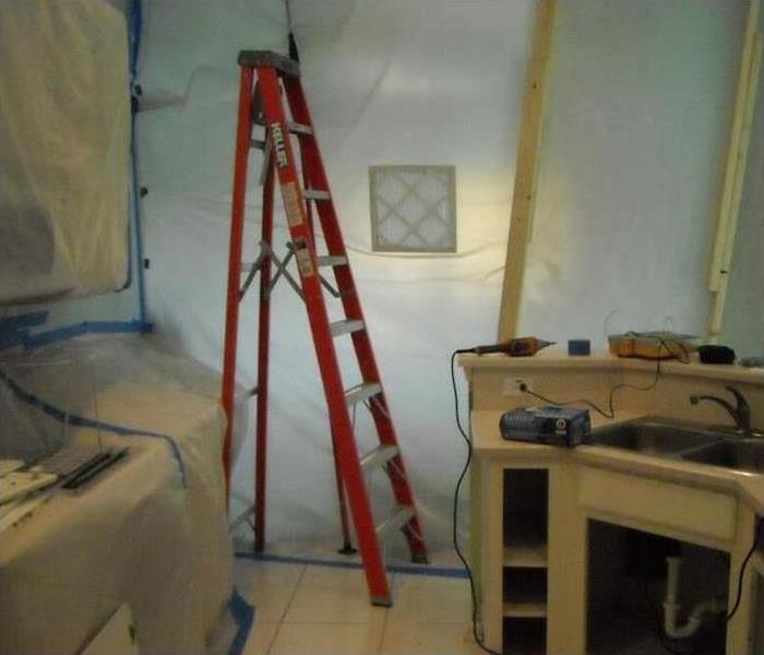Mold Damage – Santa Monica House